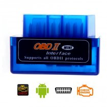 Super Mini Bluetooth OBD II, ELM 327, autodiagnostika