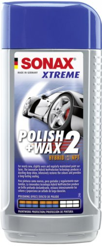Leštěnka Sonax Xtreme Polish & Wax 2 sensitive, 250ml (SX207100)