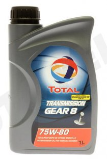TOTAL Transmission BV 75W-80 Gear 8 - 1l (201278)
